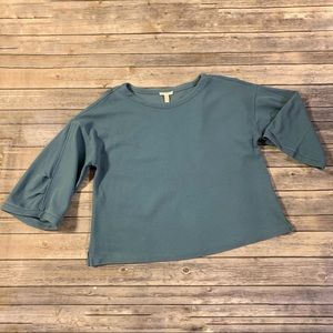 Eileen Fisher Boxy Drop sleeve knit top